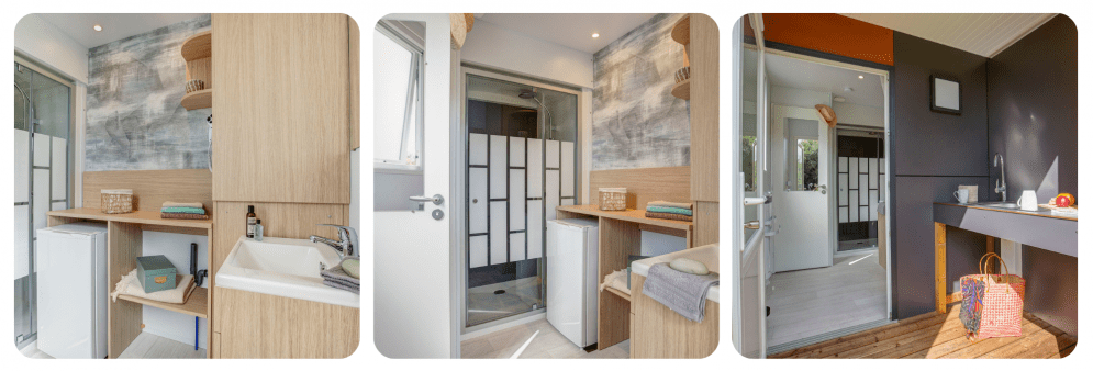 Sanitaire individuel - Emplacement Luxe