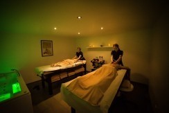 Massage au spa du camping Interlude